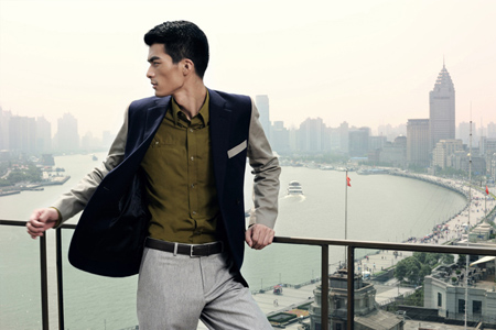 Bazaar Men Sept 2011拍摄